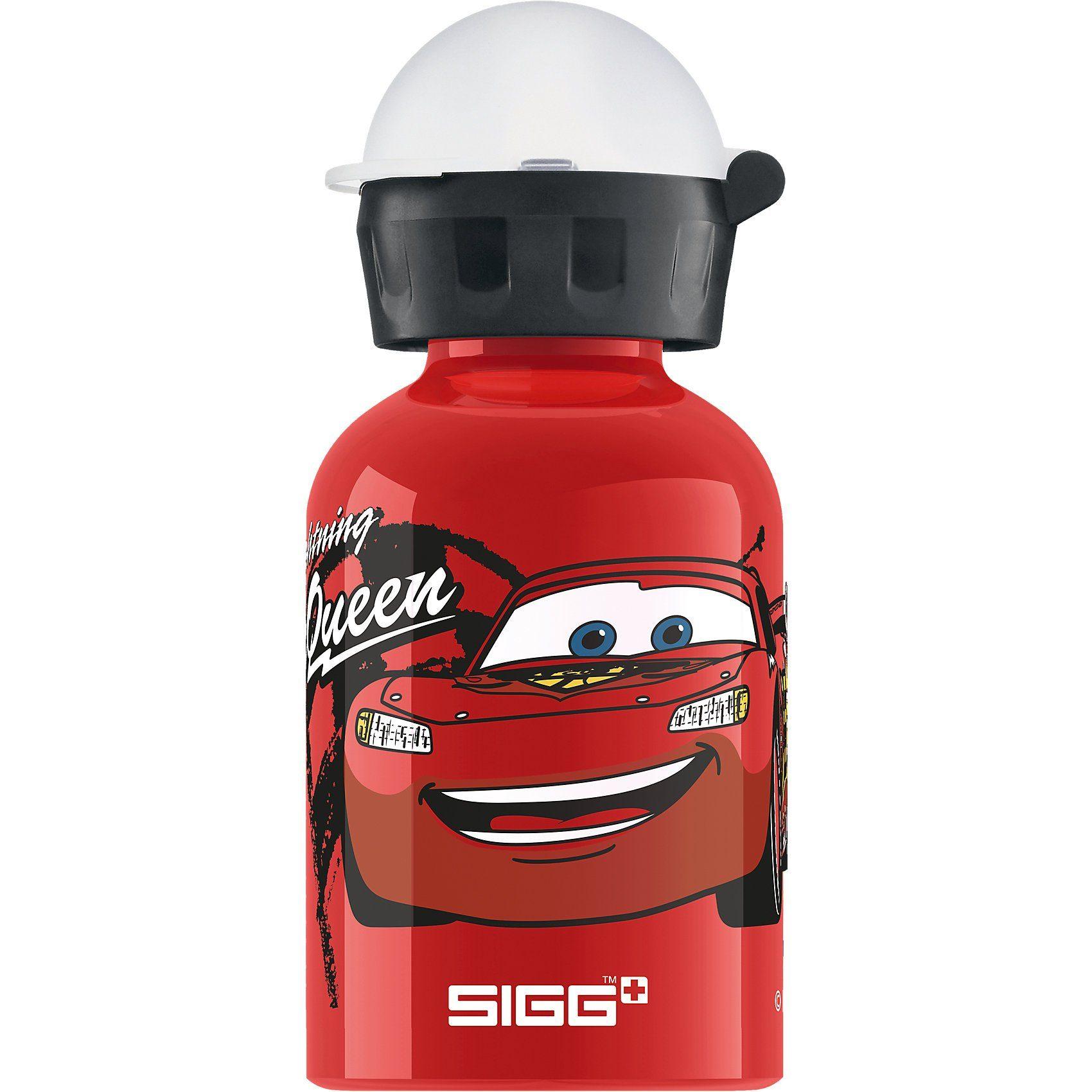 Sigg Alu-Trinkflasche Cars Lightning MC Queen, 300 ml