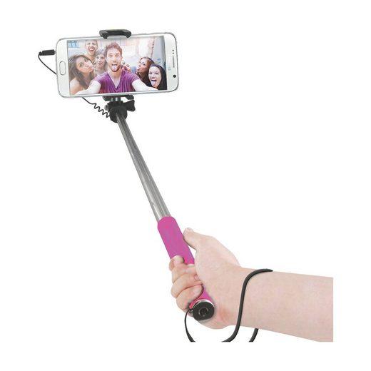 BigBen Compact Selfie Stick [pink]