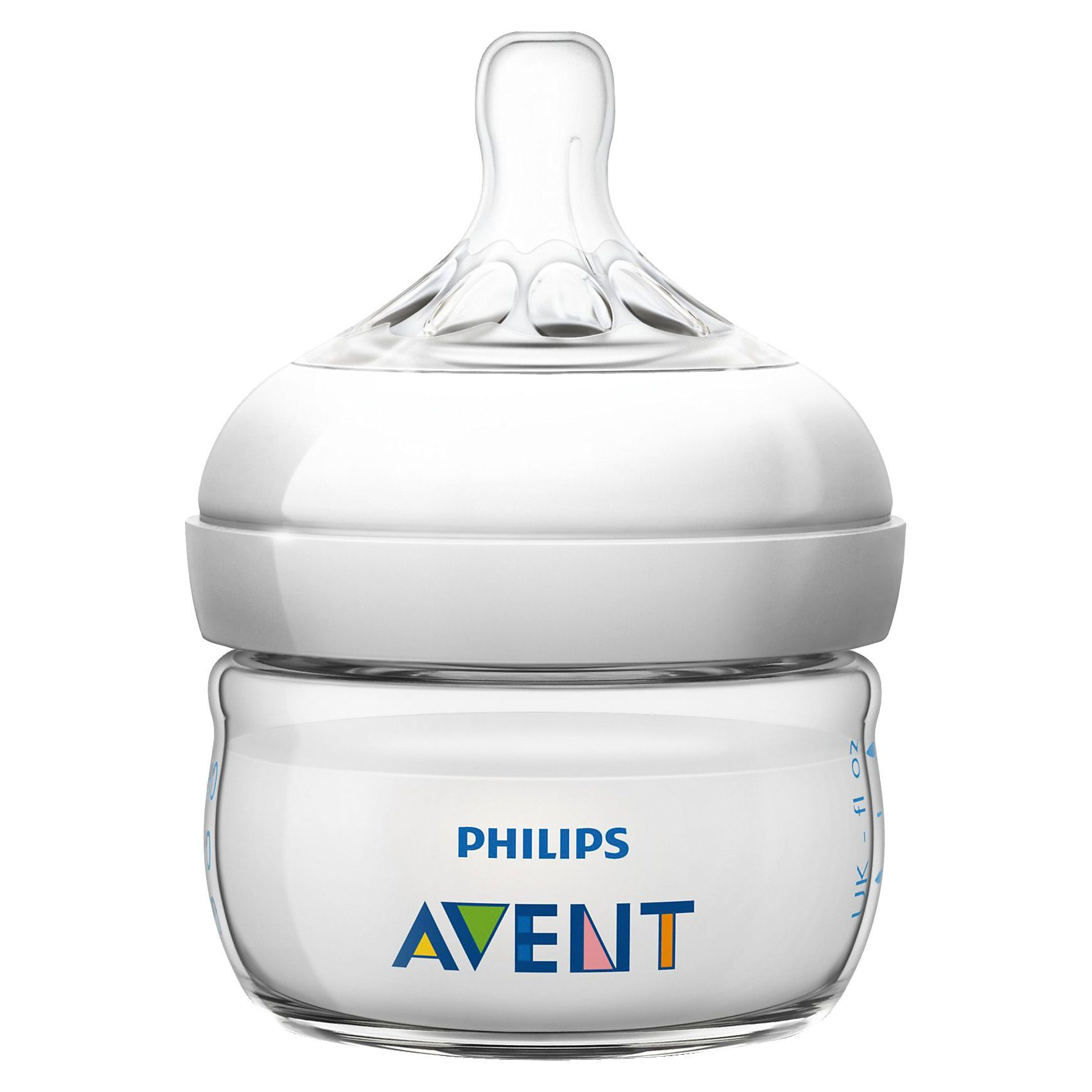 PHILIPS AVENT Weithals Flasche Naturnah, PP, Silikonsauger, 60 ml