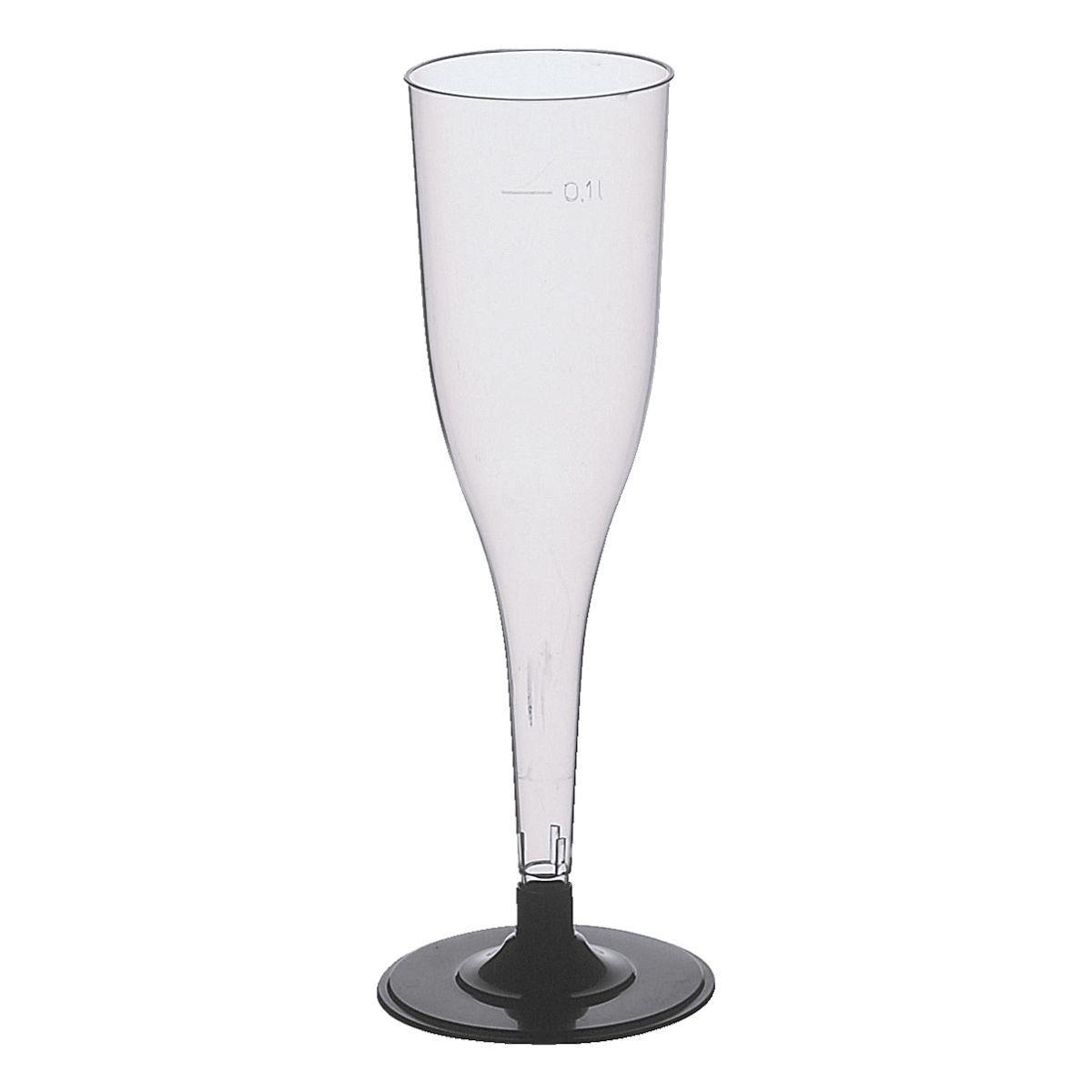 PAPSTAR Einweg-Sektglas 0,1L glasklar