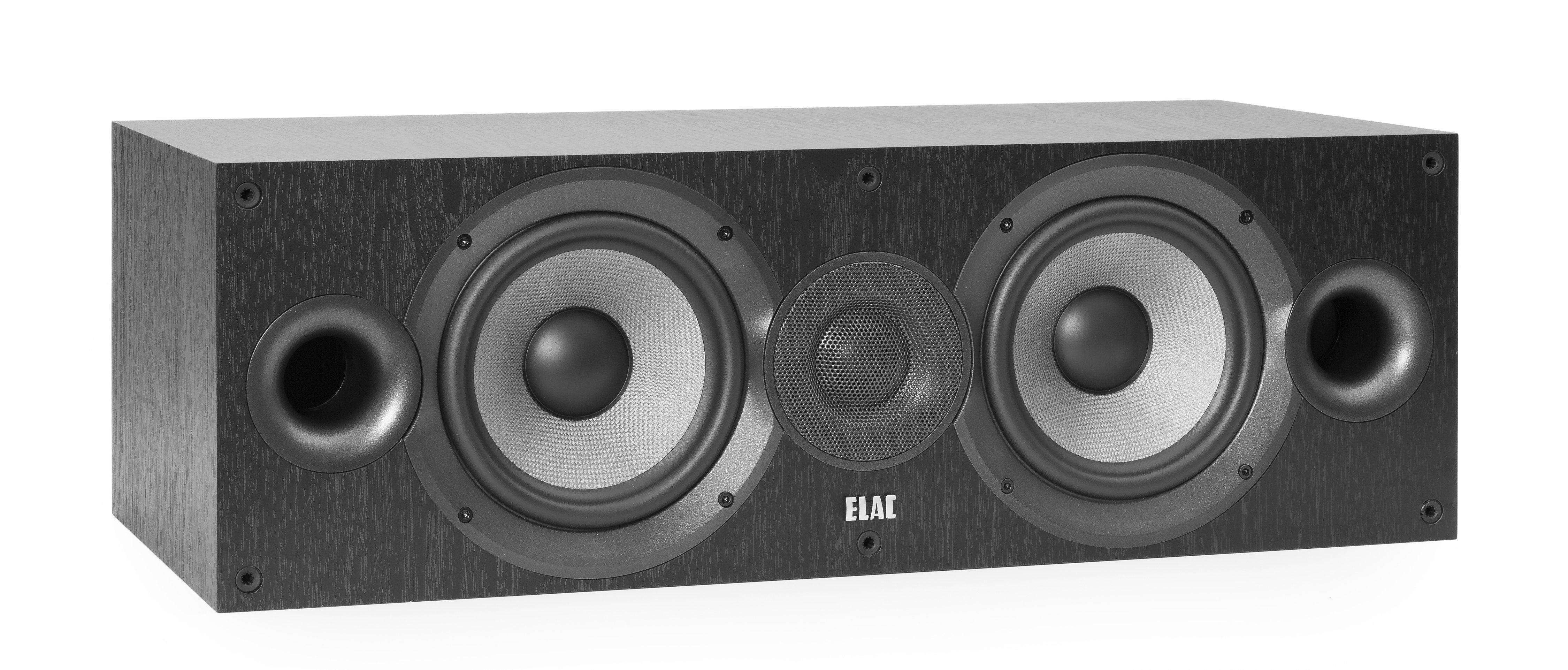 ELAC 2-Wege Bassreflexsystem Center-Lautsprecher »DEBUT C6.2«