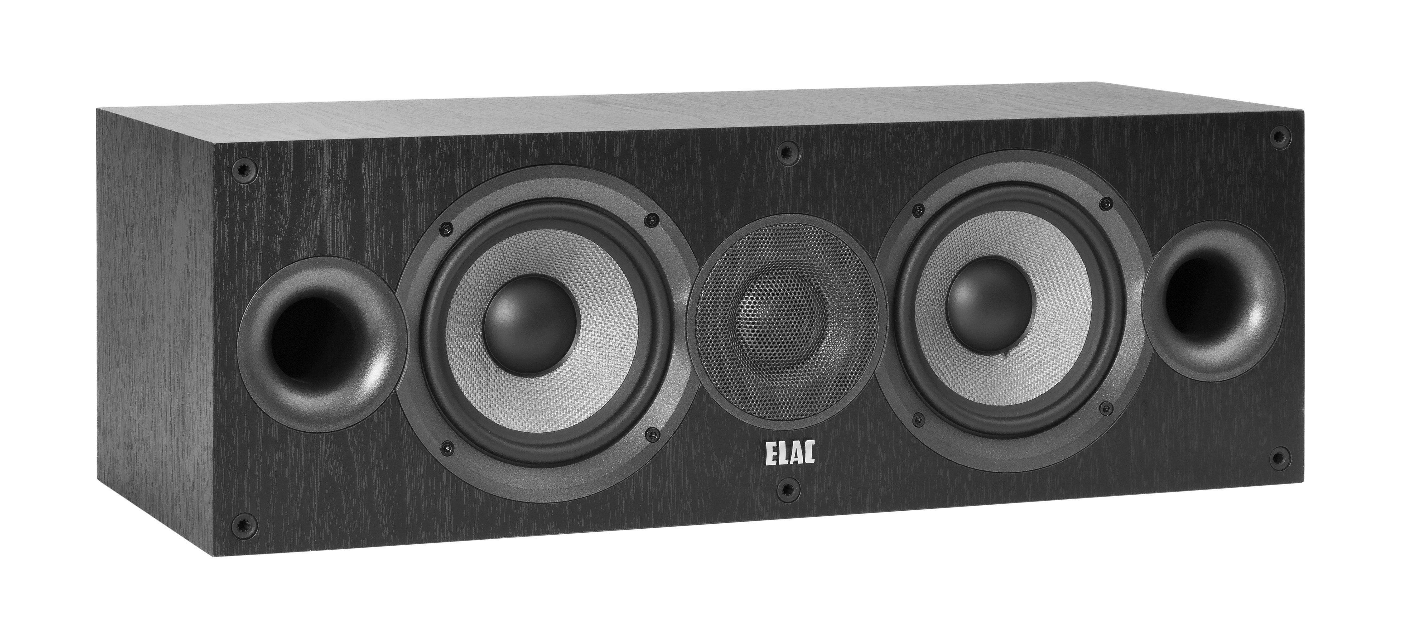 ELAC 2-Wege Bassreflexsystem Center-Lautsprecher »DEBUT C5.2«