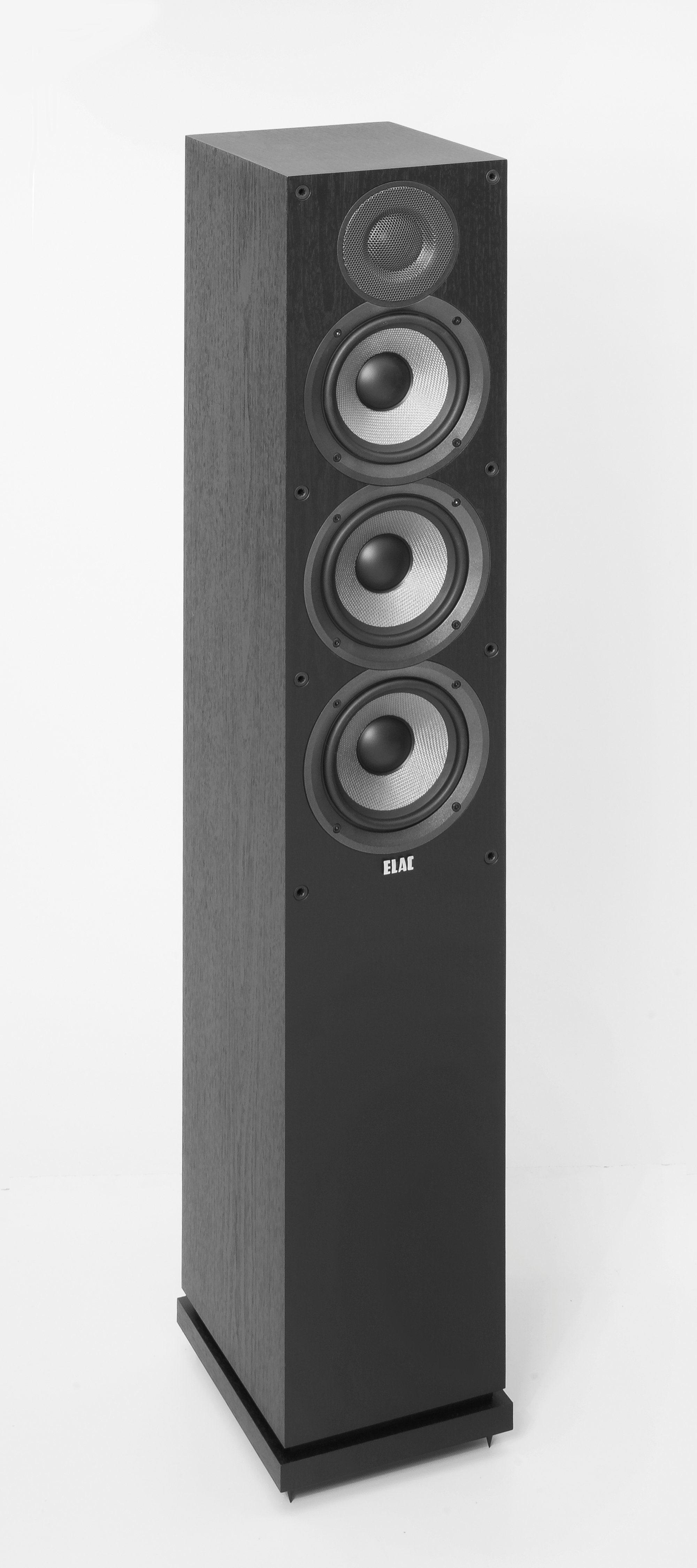 ELAC 3-Wege Bassreflexsystem Stand-Lautsprecher »DEBUT F5.2«