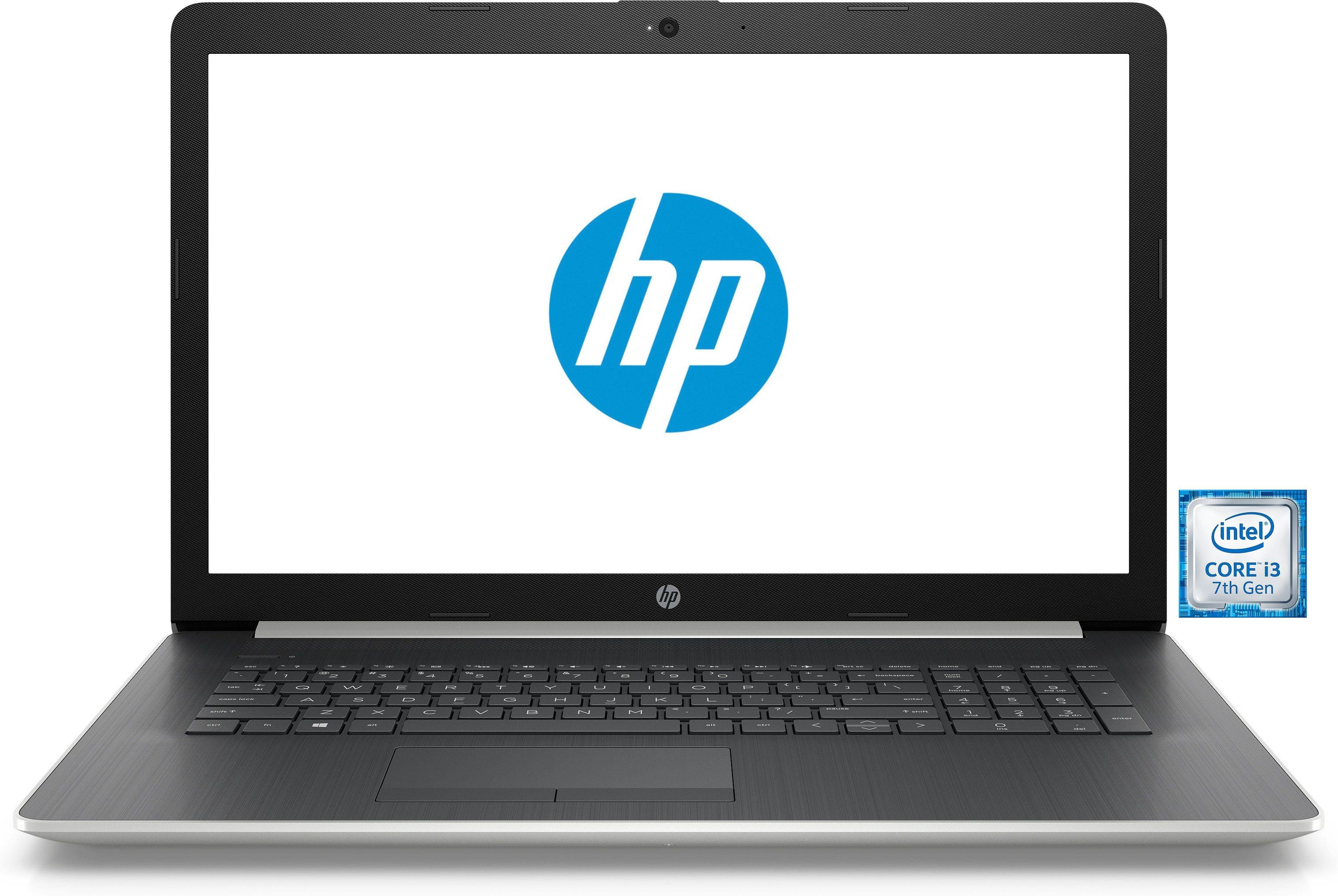 "HP 17-by0200ng Notebook »Intel Core i3, 43,9 cm (17,3""), 256 GB + 1 TB, 8GB«"