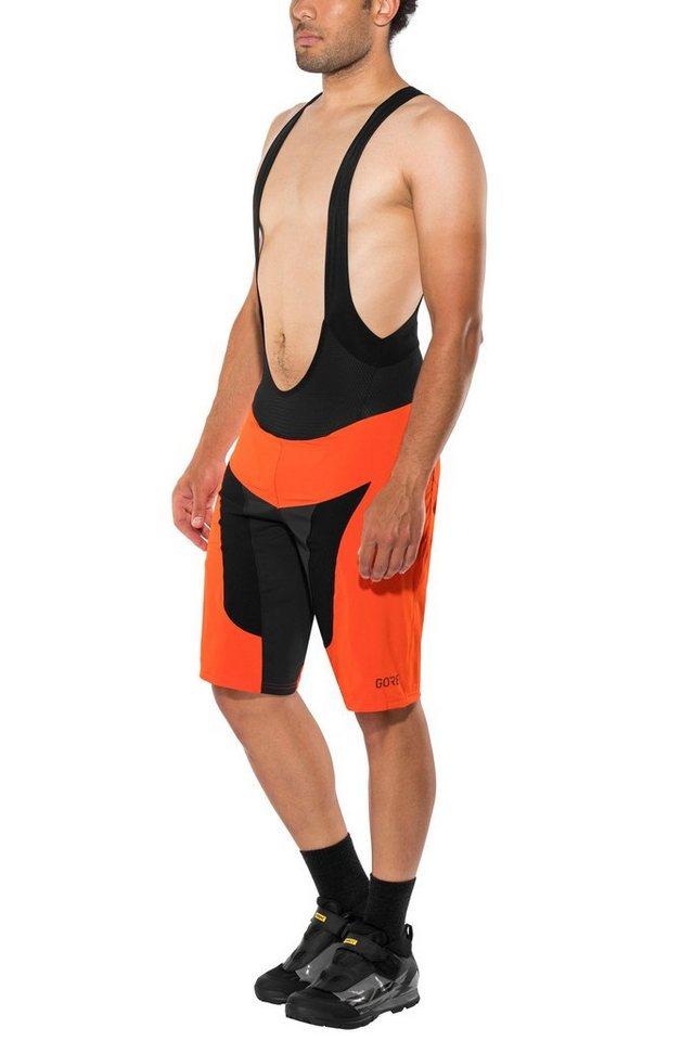 Damen,Herren GORE® Wear Hose C7 Pro 2in1 Bib Shorts Men orange | 04017912000949