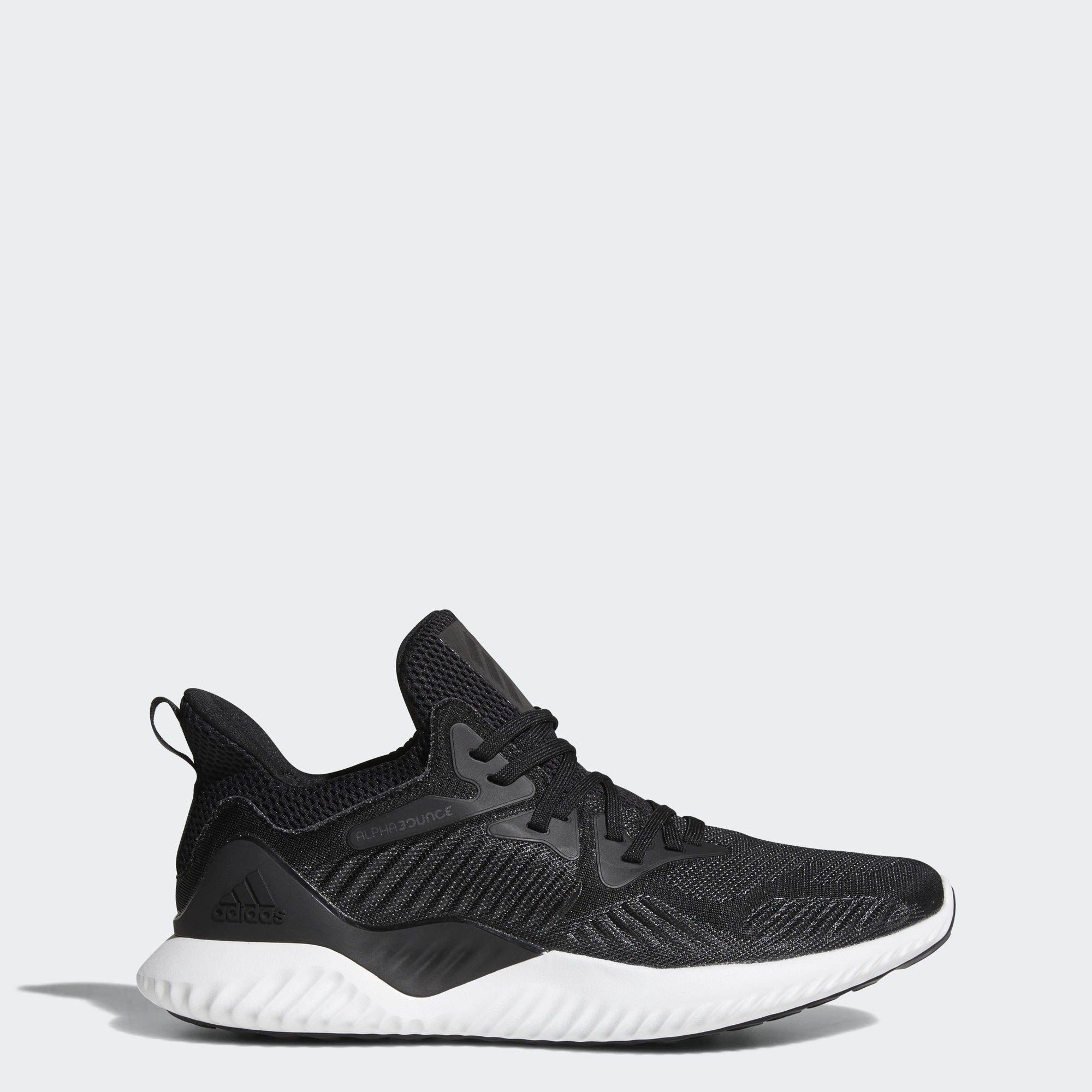 adidas Performance Alphabounce Beyond Laufschuh  black