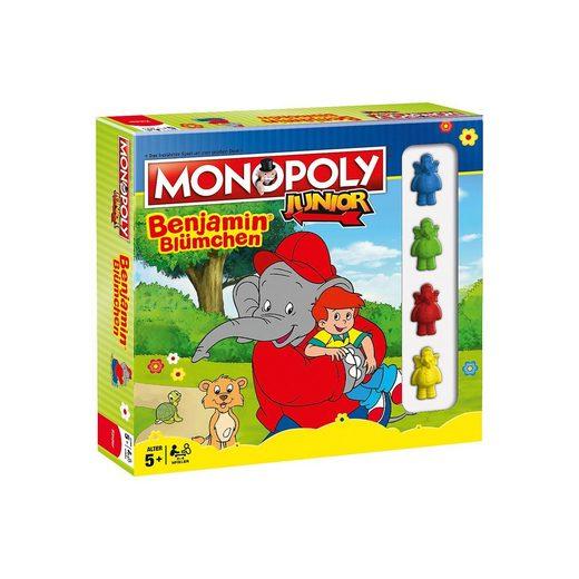 Winning Moves Monopoly Junior - Benjamin Blümchen