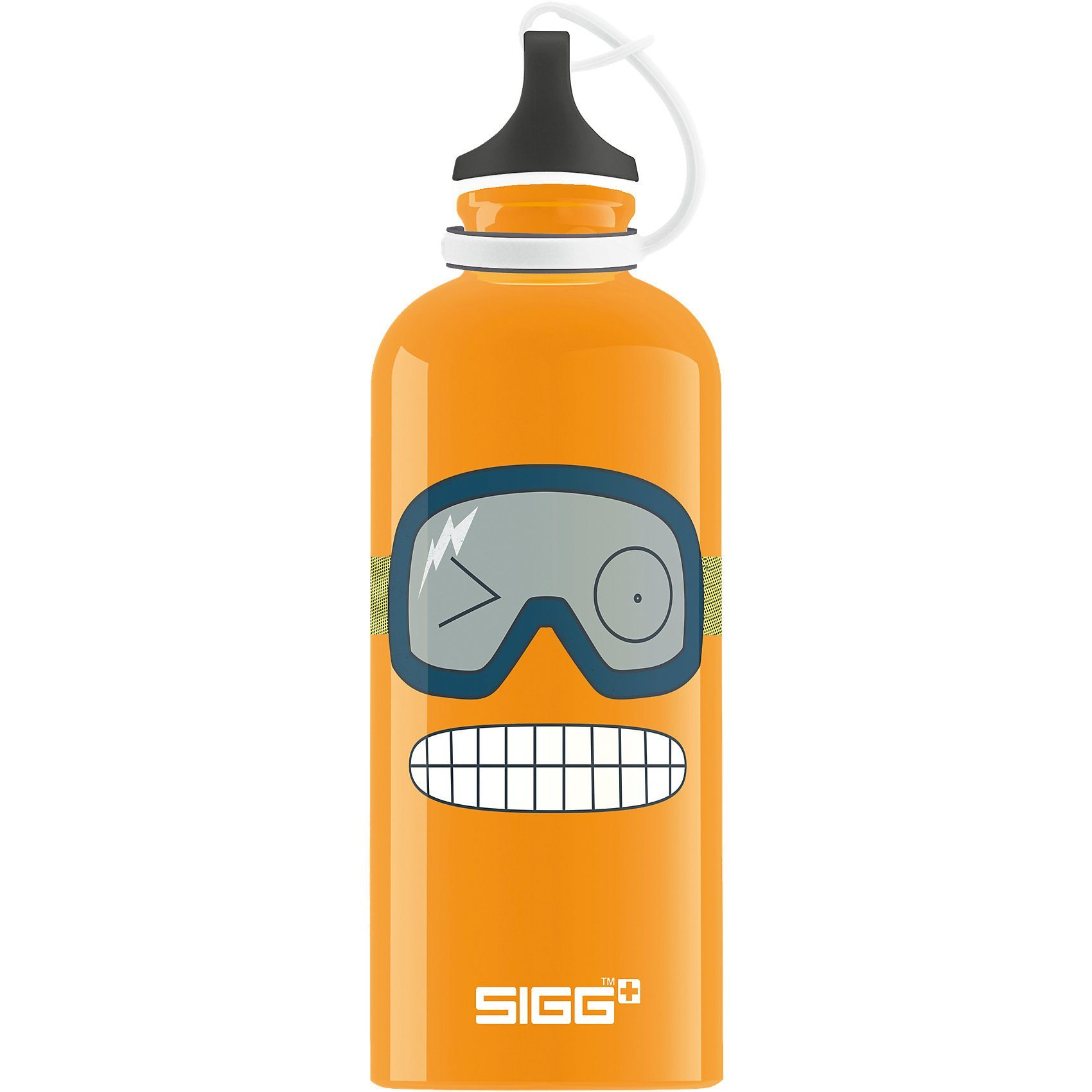 Sigg Alu-Trinkflasche Funny Face, 400 ml