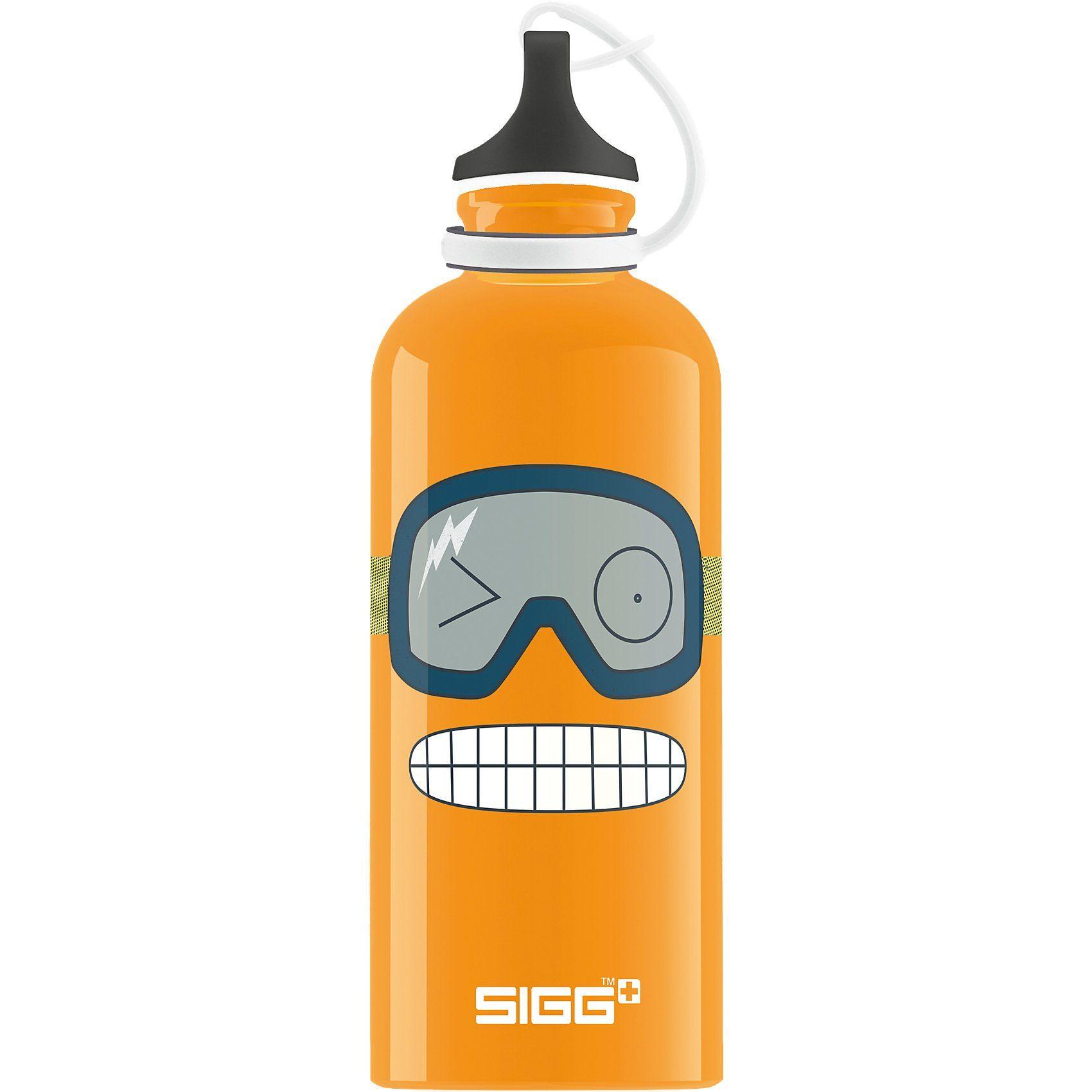 Sigg Alu-Trinkflasche Funny Face, 400 ml