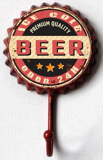 HTI-Line Garderobenhaken »Bier«