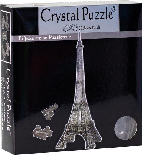 3D-Puzzle »Eiffelturm transparent«, 96 Puzzleteile
