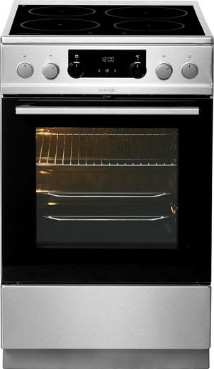GORENJE Induktions-Standherd EI 5352 XCP, mit Backauszug, GentleClose