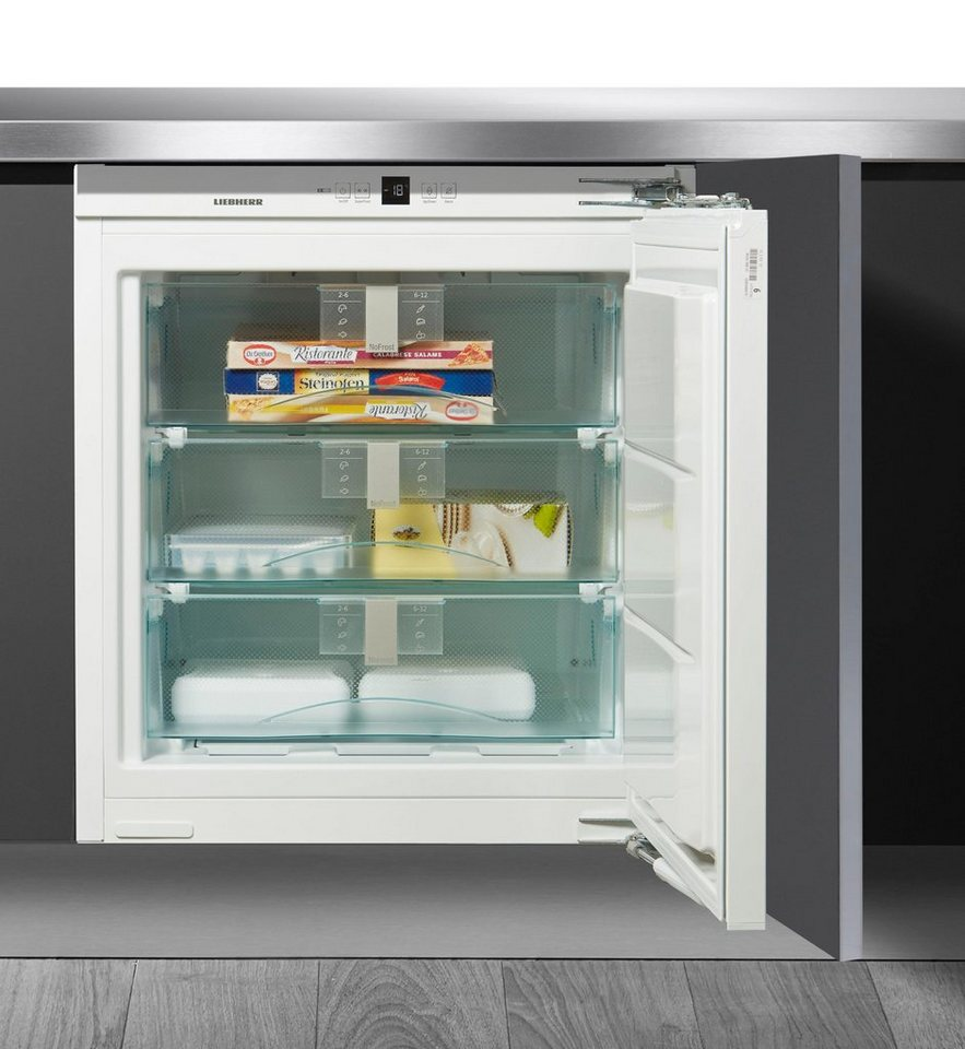 liebherr einbaugefrierschrank premium suign 1554 20 82 cm hoch 59 7 cm breit online kaufen otto. Black Bedroom Furniture Sets. Home Design Ideas