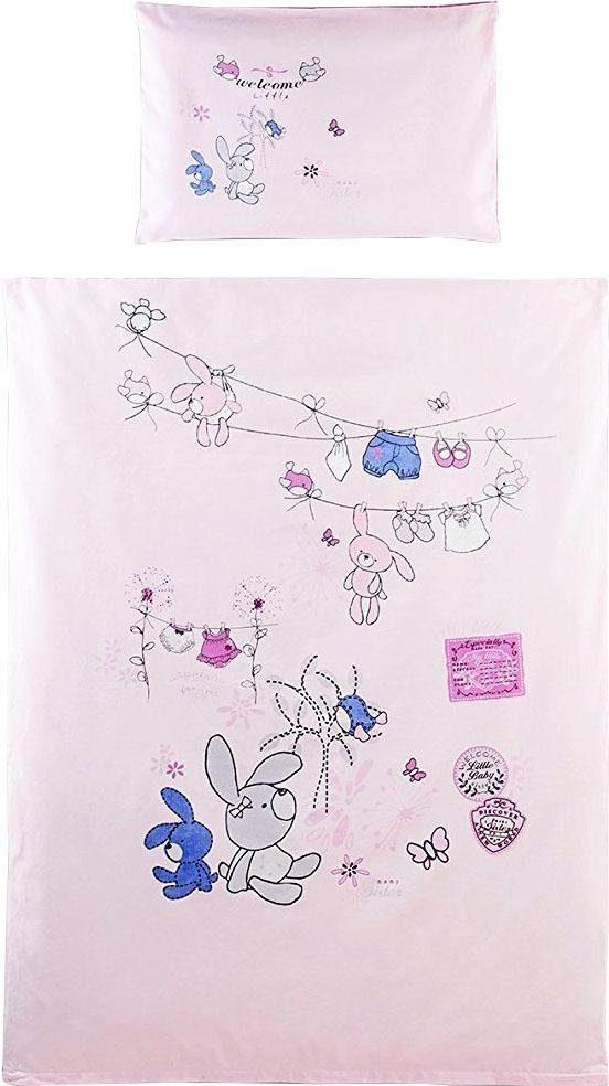 Babybettwäsche »Little«, SEI Design, mit Häschen