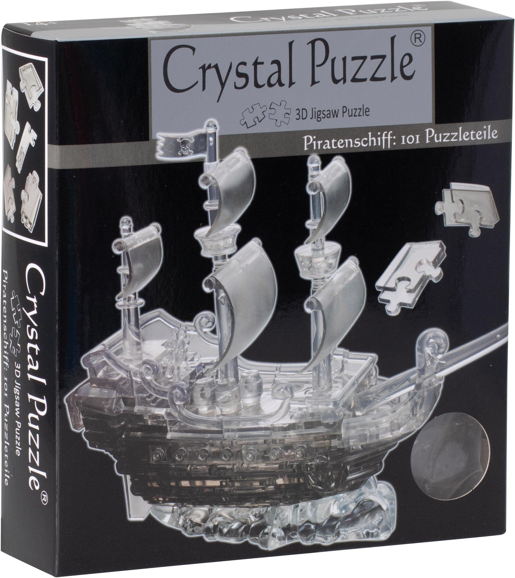 Karussell 83 Teile 3D Crystal Puzzle