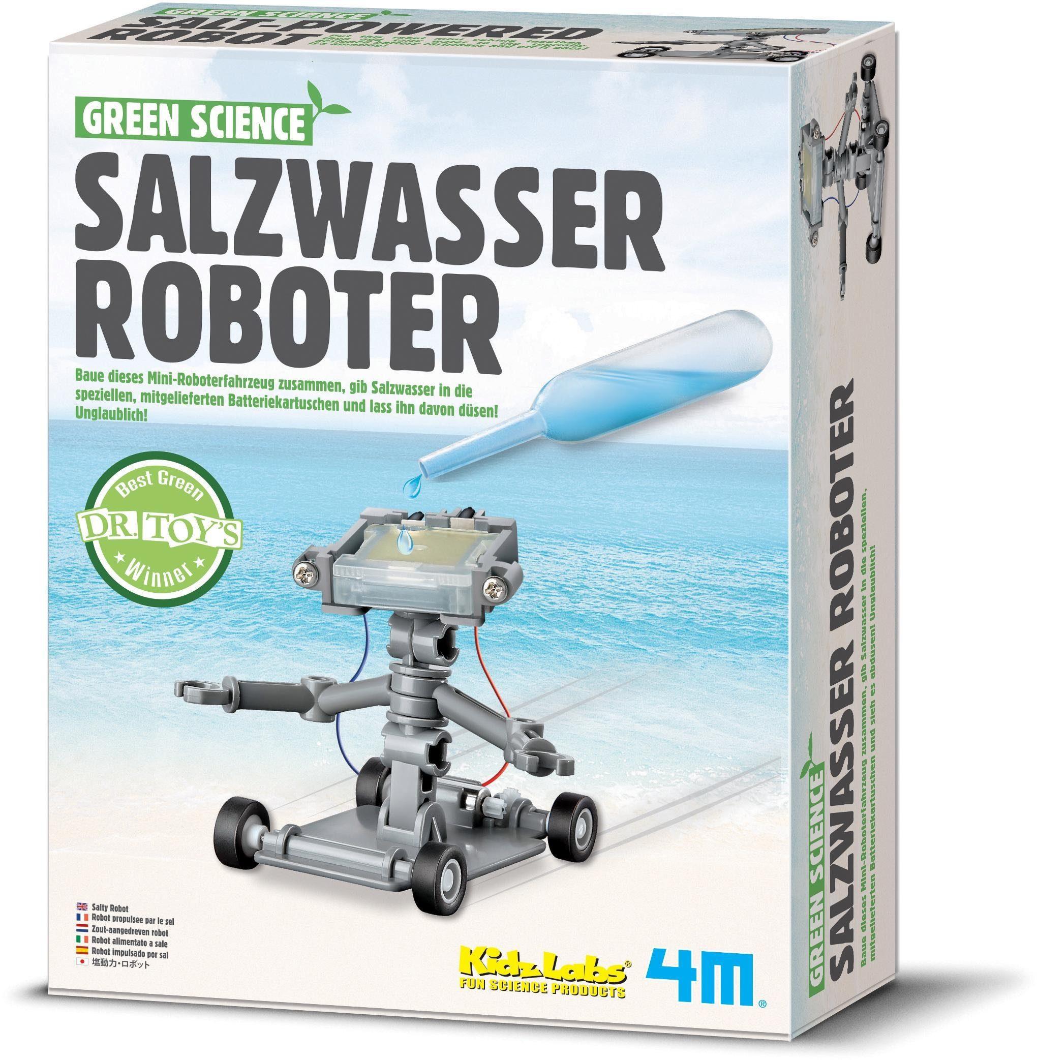 4M Experimentierset, »Green Science Salzwasser Roboter«