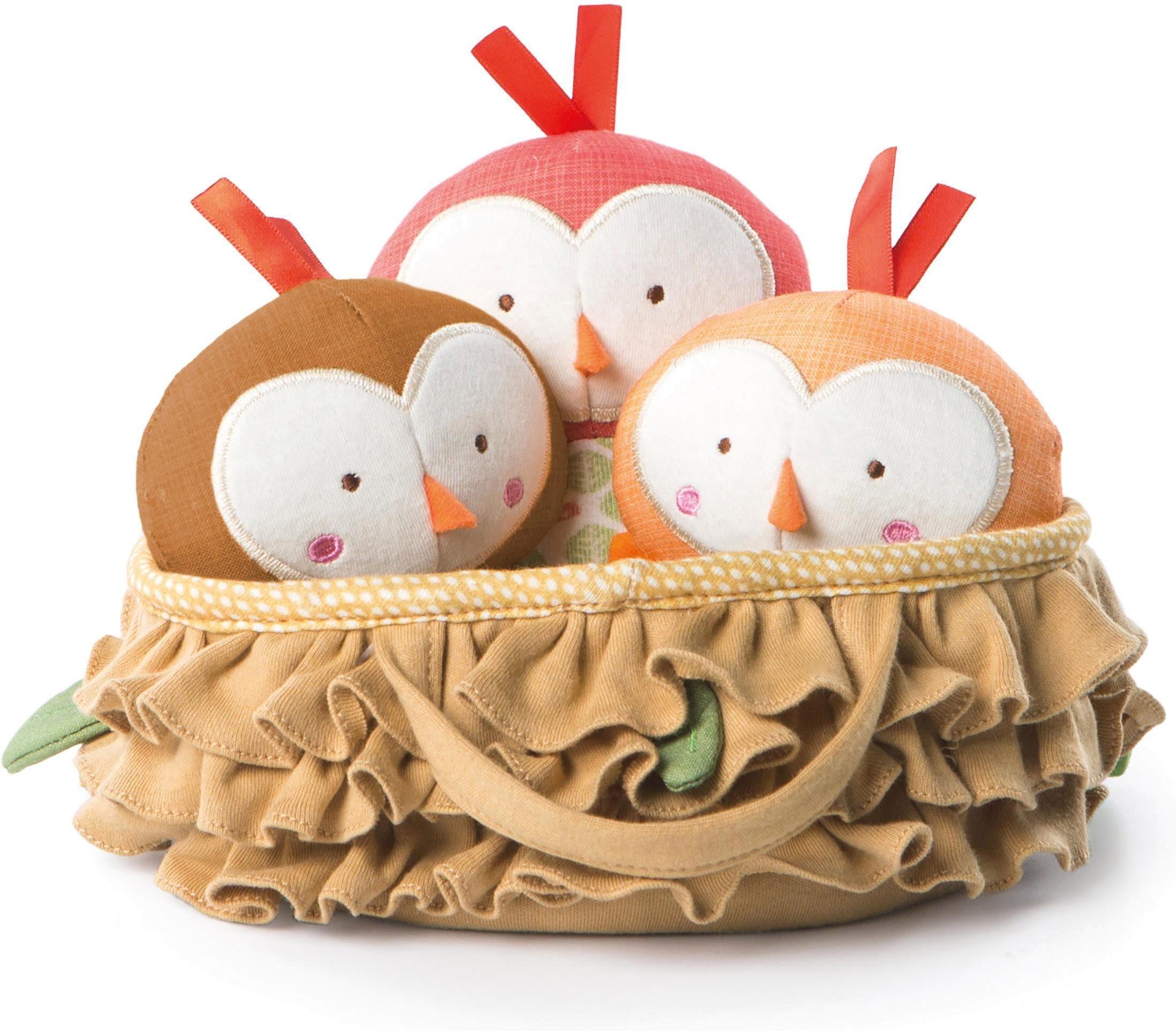 Bright Starts Plüschfiguren, »Baby Vögel im Nest«