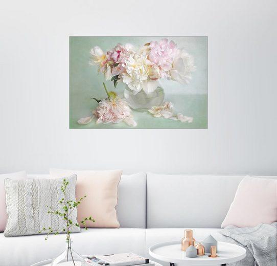 Posterlounge Wandbild - Lizzy Pe »Stillleben mit Pfingstrosen«