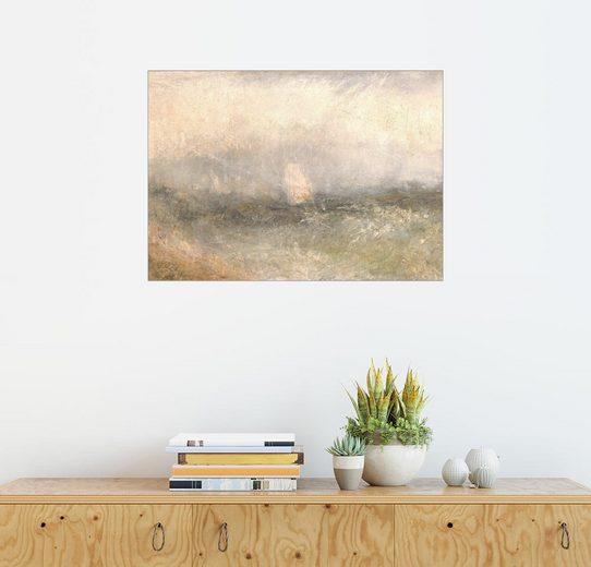 Posterlounge Wandbild - Joseph Mallord William Turner »Aus der Nore: Wind und Wasser«