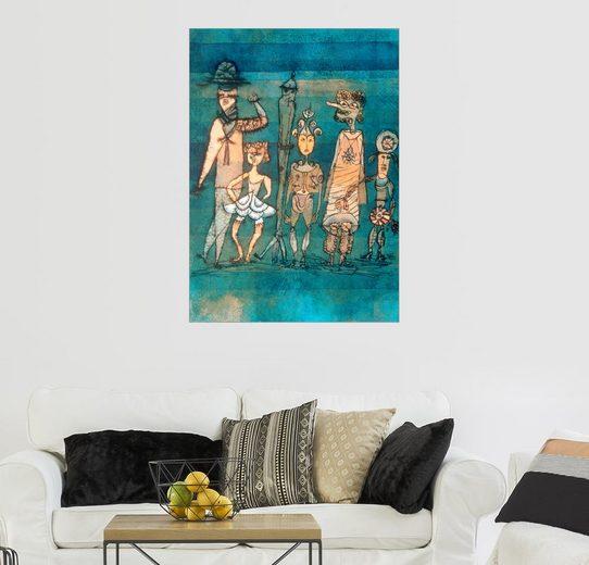 Posterlounge Wandbild - Paul Klee »Masken«