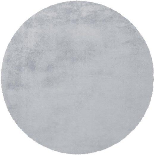 Hochflor-Teppich »Rabbit 100«, Arte Espina, rund, Höhe 45 mm, Besonders weich durch Microfaser
