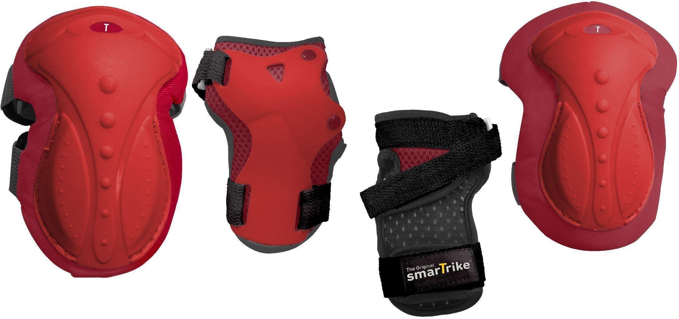 SmarTrike® Kinder-Protektoren-Set, »safeTogo™ Protection Set M, rot«