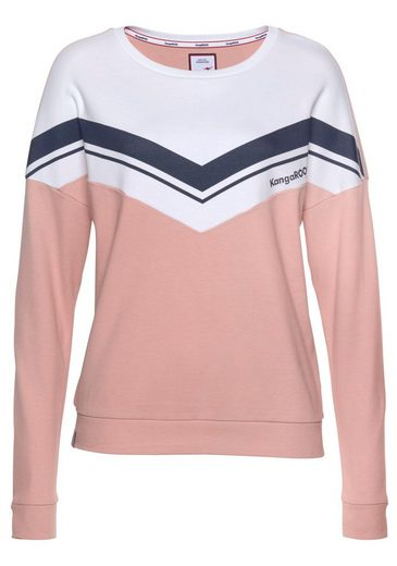 look Kangaroos Im blocking Color Sweatshirt Sportlichen X81qwZ7