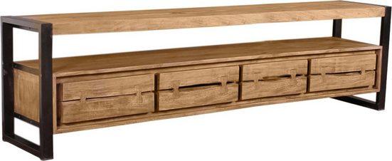 SIT Lowboard »Live Edge«, aus Akazienholz, mit markanten Baumkanten in der Front