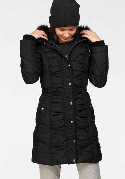 stylistisches Aussehen neu authentisch Sortendesign Daunenmantel in schwarz online kaufen | OTTO