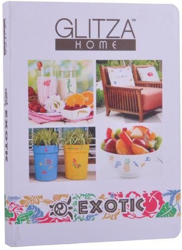 knorr toys Kreativset, »GLITZA HOME Deluxe Set Exotic«
