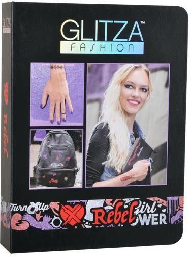 Knorrtoys® Kreativset »GLITZA FASHION Deluxe Set Rebel«, (Set), Für alle Oberflächen geeignet