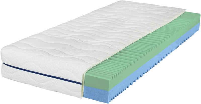 Komfortschaummatratze »EvoX Duo«, Breckle, 21 cm hoch, Raumgewicht: 28, Wendematratze mit zwei unterschiedlich festen Liegeseiten
