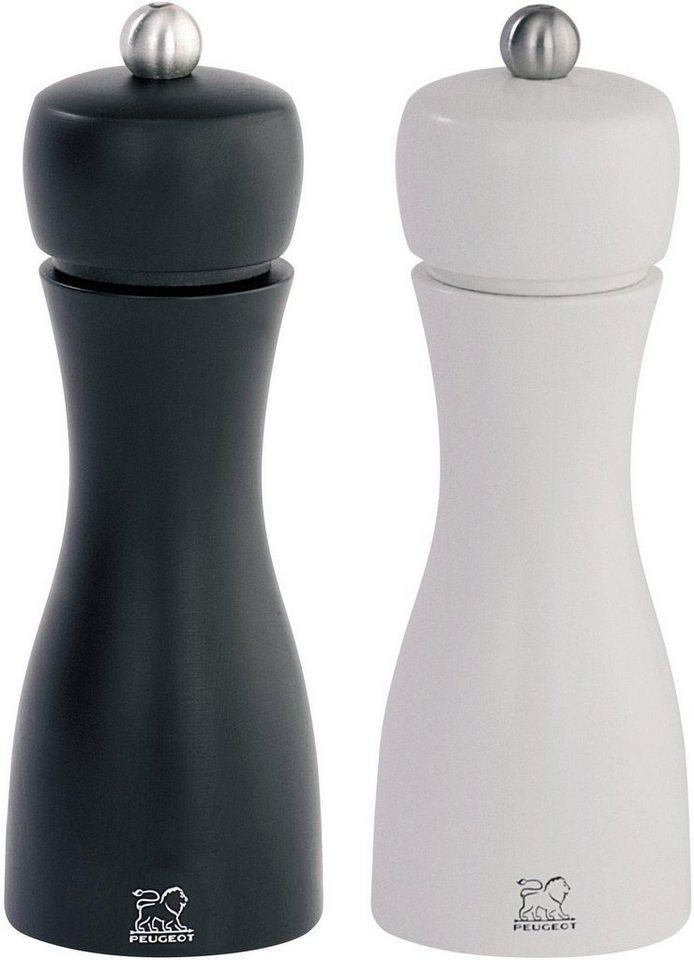 peugeot salz pfefferm hle tahiti duo manuell 2 st ck 15 cm online kaufen otto. Black Bedroom Furniture Sets. Home Design Ideas