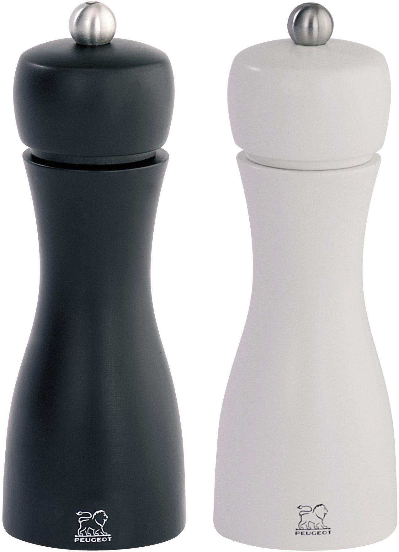 PEUGEOT Salz-/Pfeffermühle »Tahiti Duo« manuell, (2 Stück), 15 cm