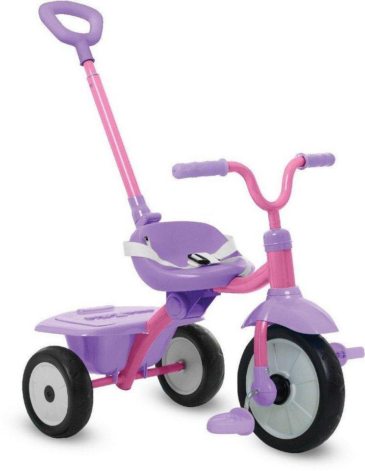 Smartrike Dreirad Mit Schubstange Folding Fun Pink Online