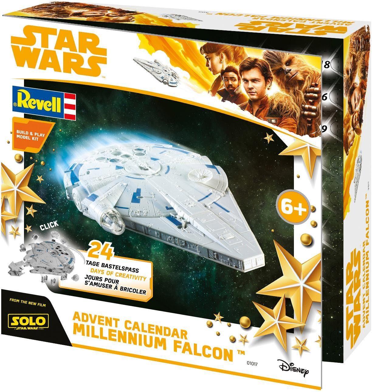 Revell Adventskalender, »Revell® Build & Play, Disney Star Wars™ Millennium Falcon™«