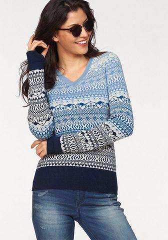 KANGAROOS Raštuotas megztinis