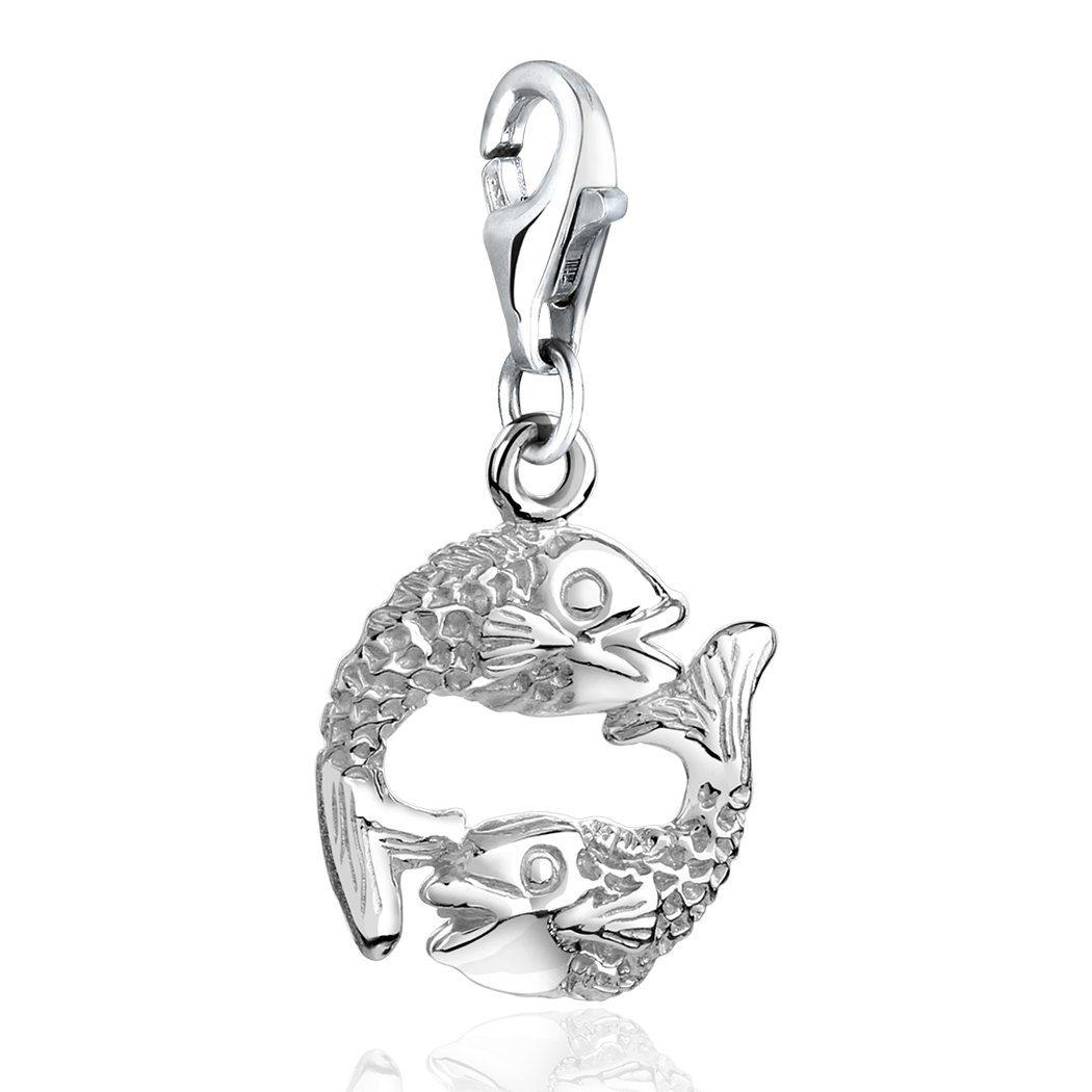 Nenalina Charm Sternzeichen Fische Charm steht für warheitsliebend und gutmütig