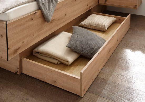 Bettschubkasten »Solid«, im warmen Dekor Artisan Eiche, 2 Stück im Set