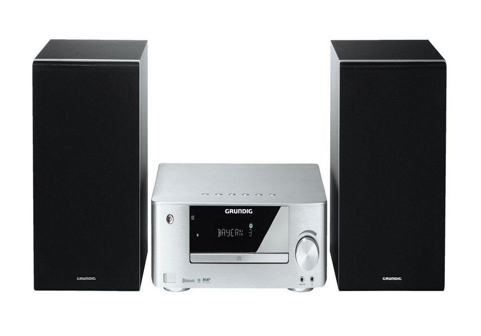 Grundig Premium HiFi Minisystem / Bluetooth / MP3 / DAB + / USB »M