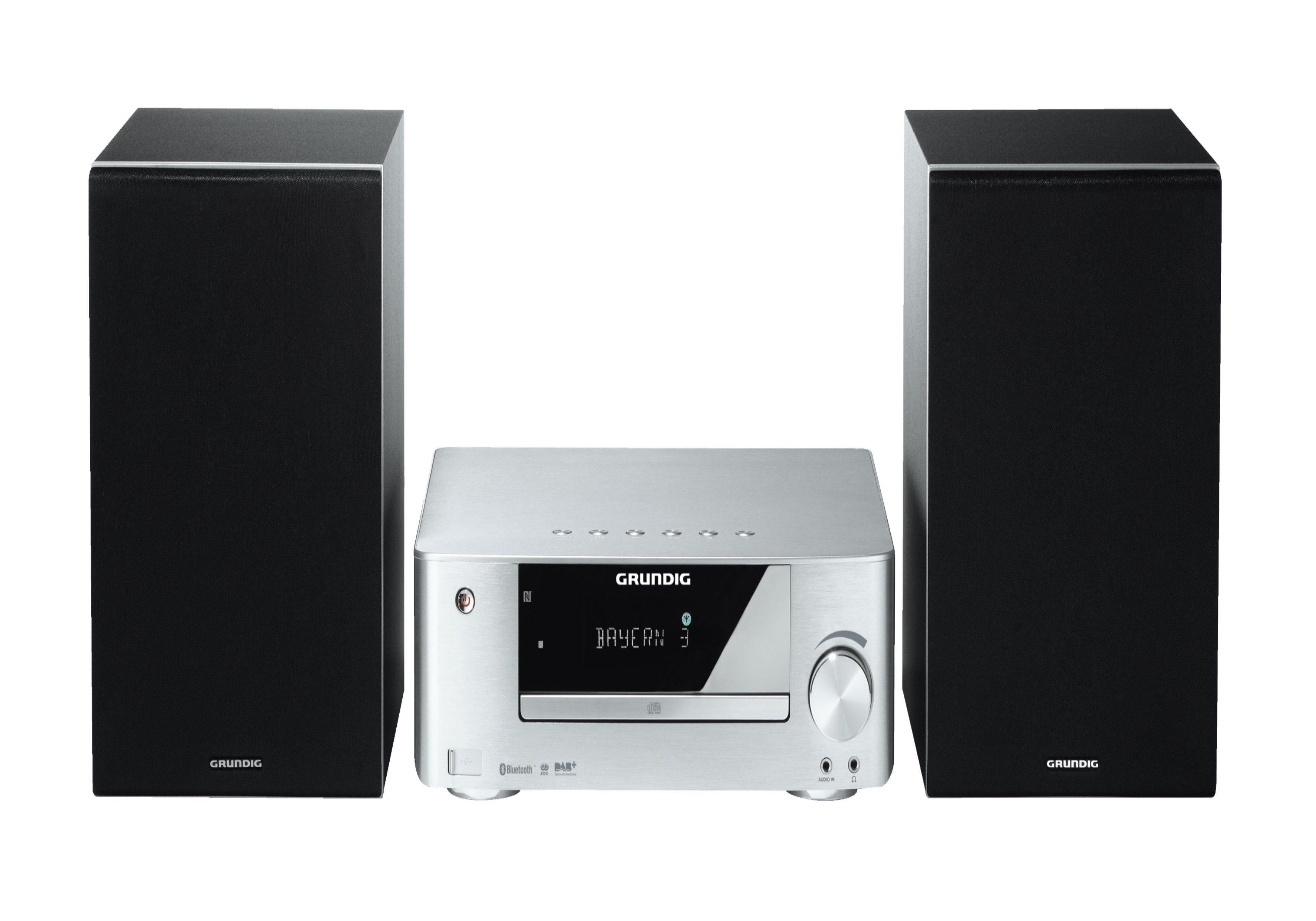 Grundig Premium HiFi-Minisystem / Bluetooth / MP3 / DAB + / USB »M 2300«