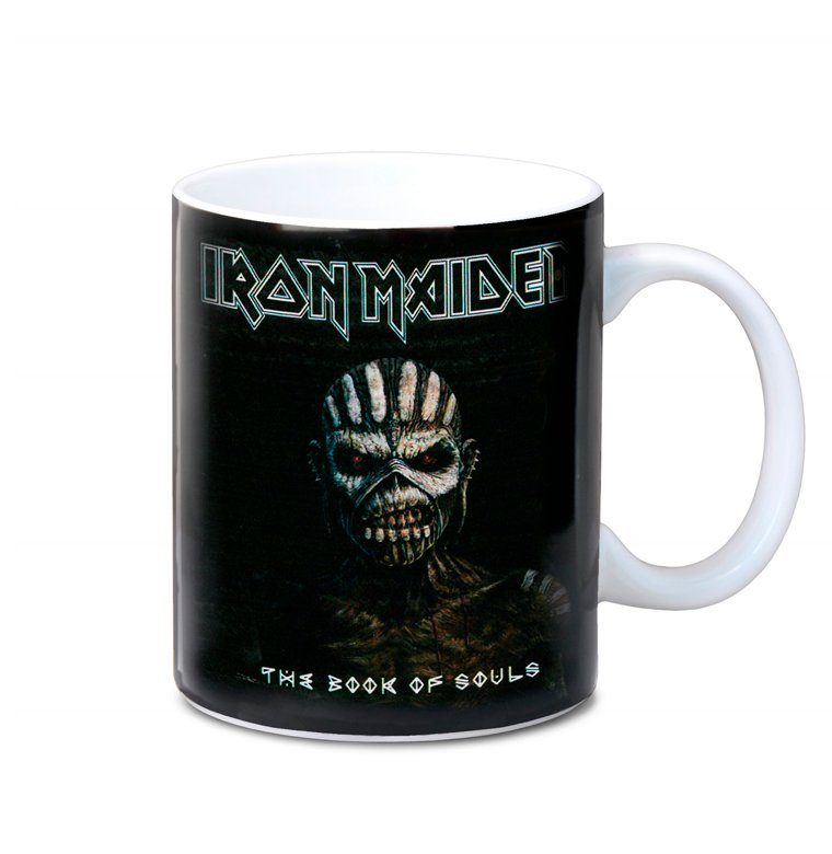 LOGOSHIRT Kaffeebecher mit Iron Maiden-Originaldesign