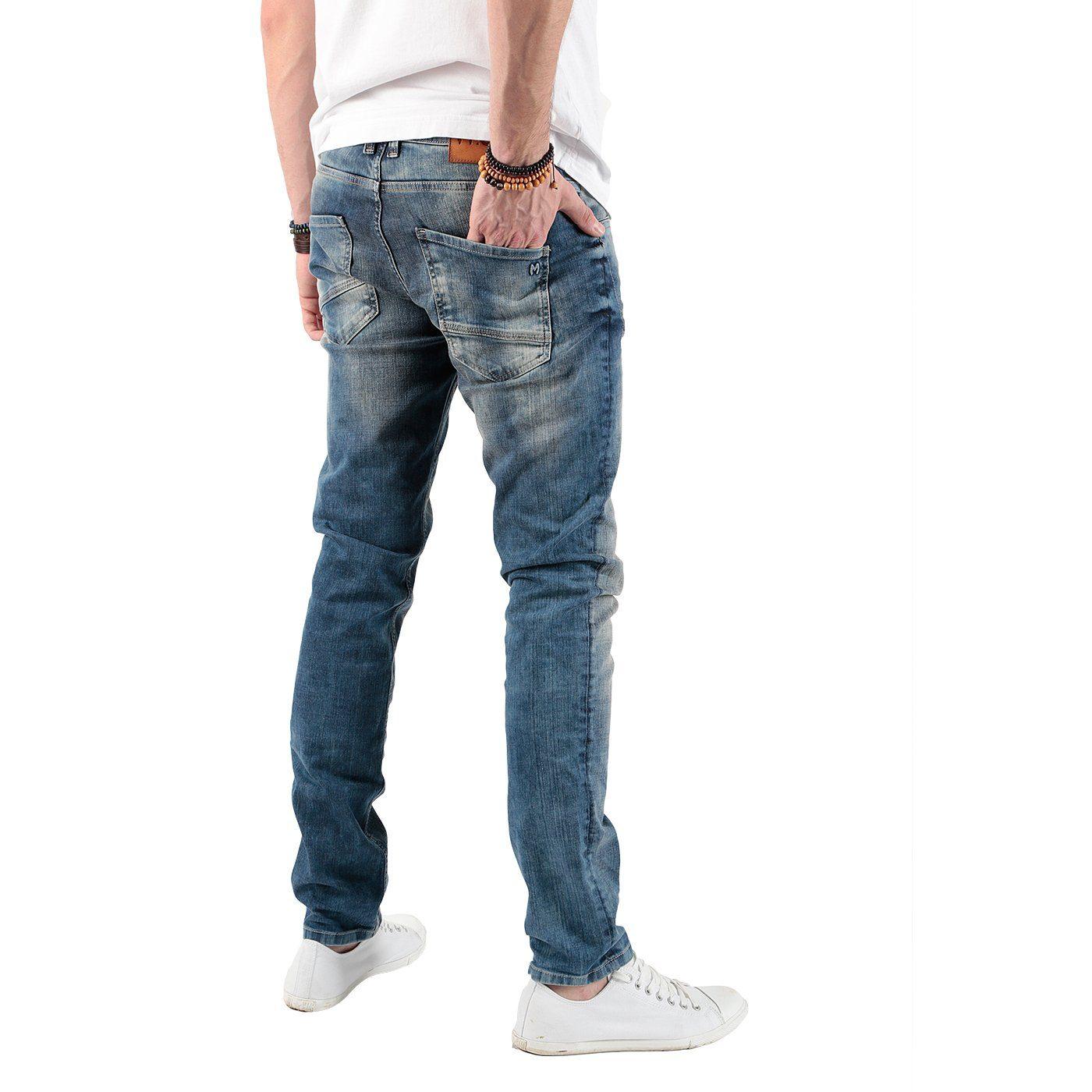 Miracle of Denim Jeans im schmalen Schnitt