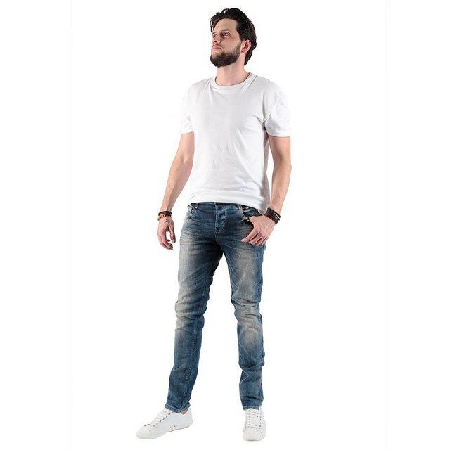 miracle of denim -  Jeans im schmalen Schnitt