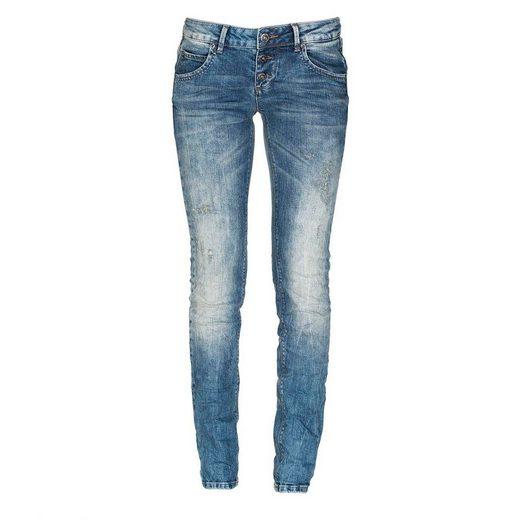Miracle of Denim Jeanshose im schmalen Schnitt