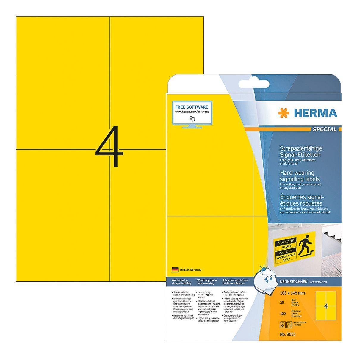 HERMA Outdoor Folien-Etiketten 100 Stück »Special«