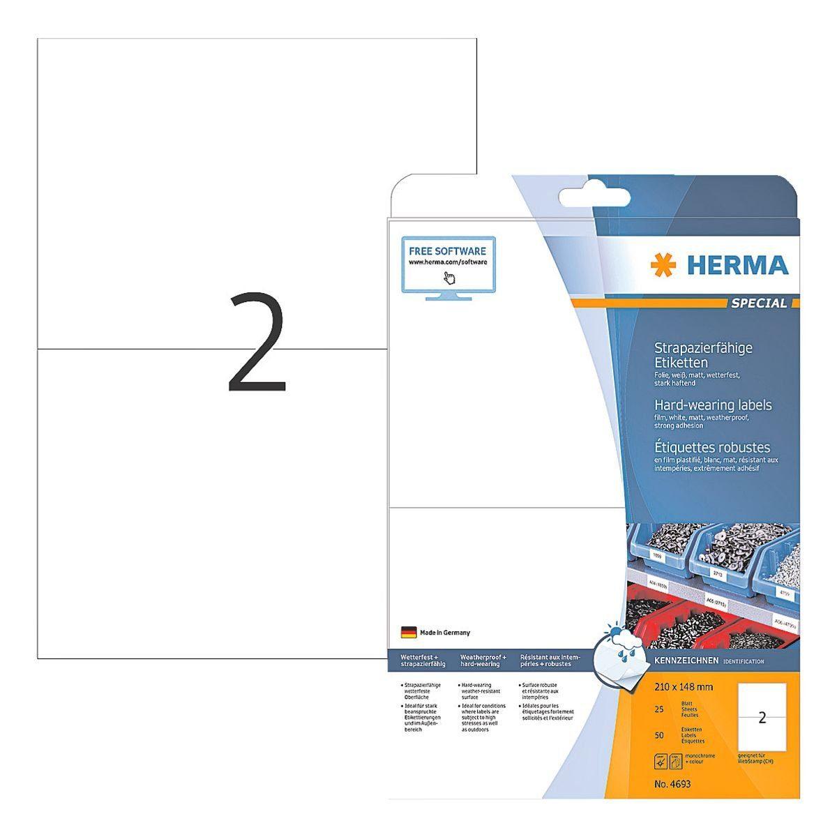 HERMA Outdoor Folien-Etiketten 50 Stück »Special«