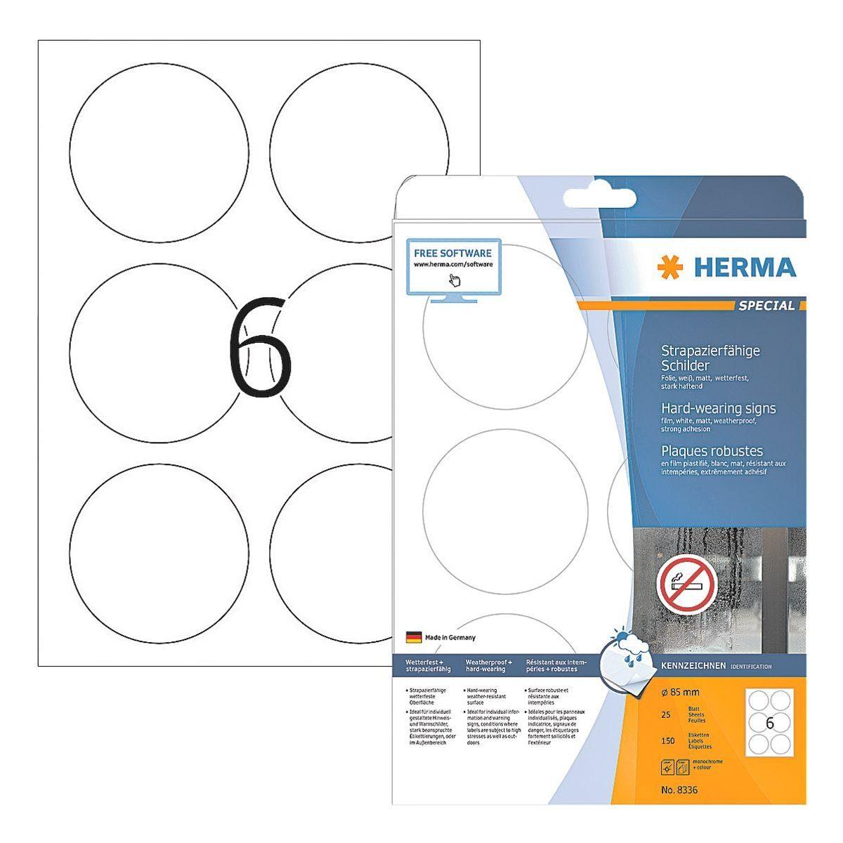 HERMA Outdoor Schilder-Etiketten 150 Stück »Special«