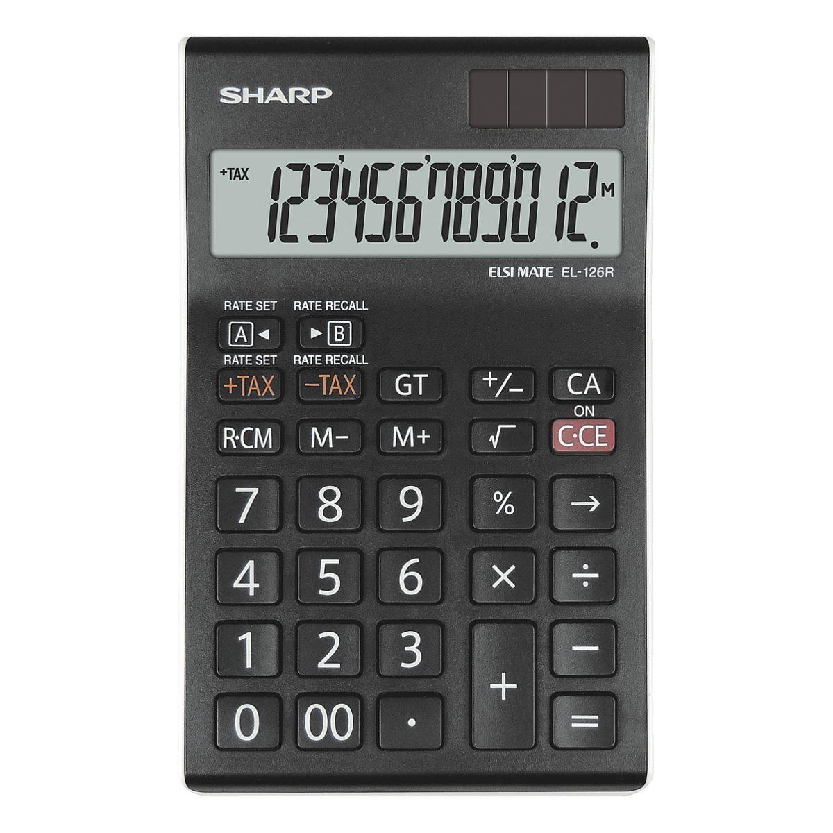 Sharp Tischrechner »EL-126R«