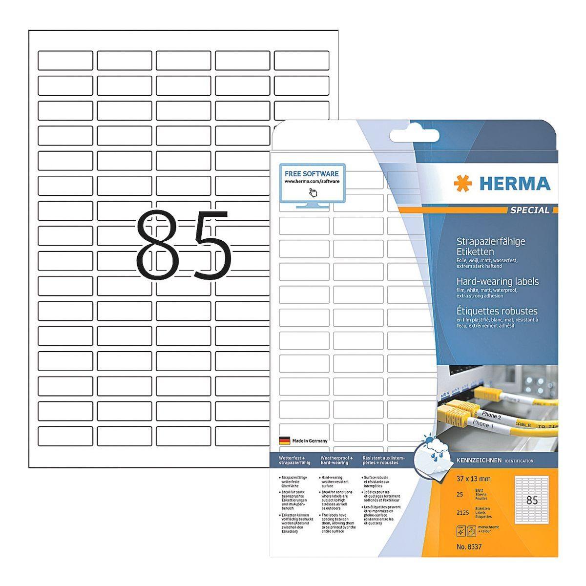 HERMA Outdoor Folien-Etiketten 2125 Stück »Special«